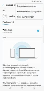 Samsung Galaxy S8 Plus (G955) - WiFi - Mobiele hotspot instellen - Stap 9