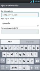 LG Optimus L9 - E-mail - Configurar correo electrónico - Paso 10