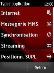Nokia Asha 300 - MMS - Configuration manuelle - Étape 7
