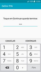 Samsung Galaxy A5 (2016) (A510F) - Segurança - Como ativar o código de bloqueio do ecrã -  8