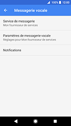 Sony Xperia XZ Premium - Android Oreo - Messagerie vocale - configuration manuelle - Étape 9