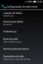 Alcatel POP C1 - Internet no telemóvel - Como ativar os dados móveis -  6