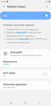 Samsung galaxy-j4-plus-dual-sim-sm-j415fn-android-pie - WiFi - Mobiele hotspot instellen - Stap 12
