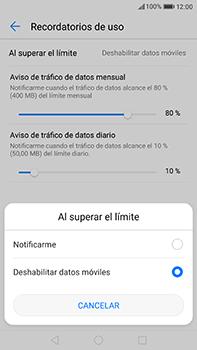 Huawei P10 Plus - Internet - Ver uso de datos - Paso 10