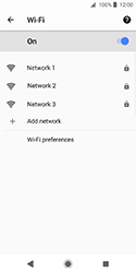 Sony Xperia XZ2 Compact - Wi-Fi - Connect to Wi-Fi network - Step 7