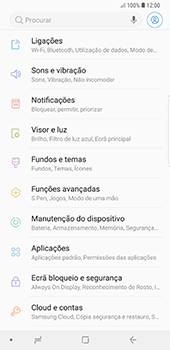 Samsung Galaxy Note 8 - Android Oreo - Internet no telemóvel - Como ativar 4G -  4