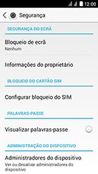 Huawei Ascend Y625 - Segurança - Como ativar o código de bloqueio do ecrã -  4