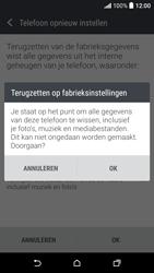 HTC Desire 530 - Device maintenance - Terugkeren naar fabrieksinstellingen - Stap 8