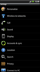 HTC Z710e Sensation - Internet - Enable or disable - Step 4
