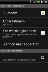 HTC A6262 Hero - Bluetooth - Headset, carkit verbinding - Stap 9
