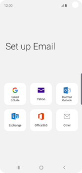 Samsung Galaxy S10e - E-mail - Manual configuration (outlook) - Step 6