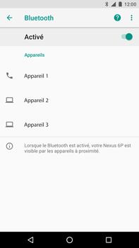 Huawei Nexus 6P - Android Oreo - Bluetooth - connexion Bluetooth - Étape 9