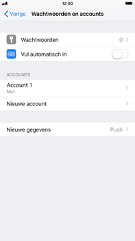 Apple iPhone 6 Plus - iOS 12 - E-mail - Account instellen (POP3 met SMTP-verificatie) - Stap 25