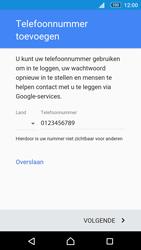 Sony Xperia M5 (E5603) - Applicaties - Account aanmaken - Stap 14