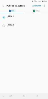Samsung J4+ - Internet (APN) - Como configurar a internet do seu aparelho (APN Nextel) - Etapa 17