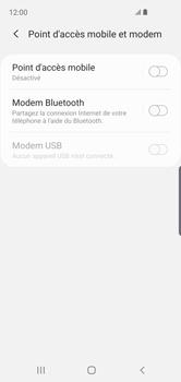 Samsung Galaxy S10e - Internet - comment configurer un point d'accès mobile - Étape 6