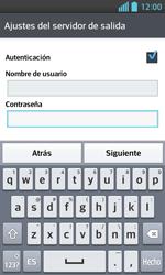 LG Optimus L5 II - E-mail - Configurar correo electrónico - Paso 16