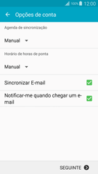 Samsung Galaxy S4 LTE - Email - Configurar a conta de Email -  16