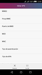 Huawei Y5 II - Mensajería - Configurar el equipo para mensajes multimedia - Paso 12