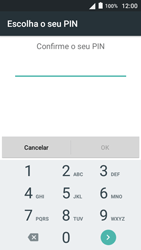 Alcatel Pop 3 - Segurança - Como ativar o código de bloqueio do ecrã -  11