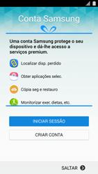 Samsung Galaxy S5 - Primeiros passos - Como ligar o telemóvel pela primeira vez -  11