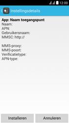 Huawei Y625 - MMS - Automatisch instellen - Stap 6