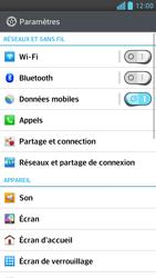 LG Optimus F6 - Internet et connexion - Partager votre connexion en Wi-Fi - Étape 4