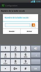 LG P875 Optimus F5 - Messagerie vocale - configuration manuelle - Étape 9