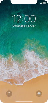 Apple iPhone X - Device maintenance - Effectuer une réinitialisation logicielle - Étape 4