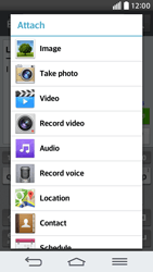 LG G2 mini LTE - Mms - Sending a picture message - Step 13