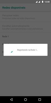 Motorola Moto G6 Play - Rede móvel - Como selecionar o tipo de rede adequada - Etapa 11