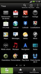 HTC One S - Internet et connexion - Partager votre connexion en Wi-Fi - Étape 3