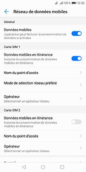 Huawei Y6 (2018) - Aller plus loin - Désactiver les données à l'étranger - Étape 5