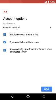 Nokia 6 (2018) - E-mail - Manual configuration (outlook) - Step 10