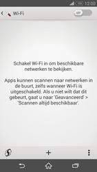 Sony Xperia Z3 4G (D6603) - WiFi - Handmatig instellen - Stap 5