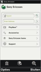 Sony Ericsson U5i Vivaz - Internet - Hoe te internetten - Stap 3