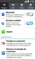 LG F70 - Internet et connexion - Partager votre connexion en Wi-Fi - Étape 4