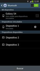 Samsung Galaxy S4 - Bluetooth - Conectar dispositivos a través de Bluetooth - Paso 8