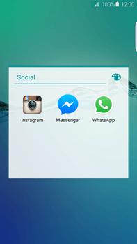 Samsung Galaxy S6 Edge + - Aplicações - Como configurar o WhatsApp -  5