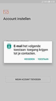 Samsung Galaxy J4 - E-mail - handmatig instellen - Stap 5