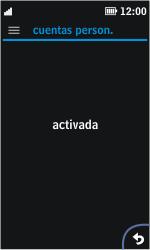 Nokia Asha 311 - Mensajería - Configurar el equipo para mensajes multimedia - Paso 5