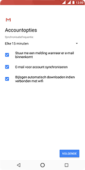 Nokia 5.1 - E-mail - e-mail instellen (outlook) - Stap 10