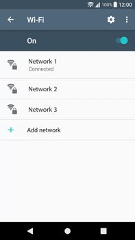 Sony Xperia XA1 Plus - WiFi and Bluetooth - Manual configuration - Step 8