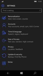 Microsoft Lumia 650 - Device maintenance - Create a backup of your data - Step 22