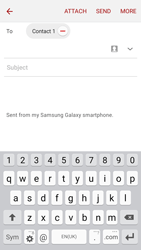 Samsung J500F Galaxy J5 - E-mail - Sending emails - Step 8