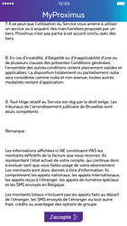 Apple iPhone 6 iOS 10 - Applications - MyProximus - Étape 13