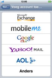 Apple iPhone 3G - E-mail - Handmatig instellen - Stap 6