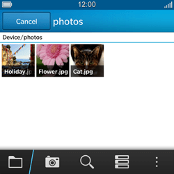 BlackBerry Q5 - MMS - Sending a picture message - Step 10