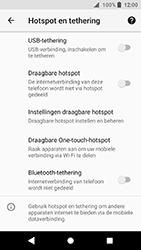 Sony Xperia XA2 (H3113) - WiFi - Mobiele hotspot instellen - Stap 12
