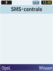 Samsung C3350 Xcover 2 - SMS - handmatig instellen - Stap 7